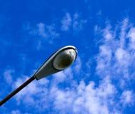 Pali chiari del cielo. Fotografie Stock