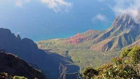 pali del Na dell'allerta del Kauai Immagini Stock