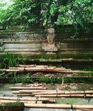Pali di bambù, Ubud, Bali immagine stock