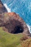 pali för kustkauai na Arkivbild
