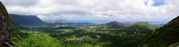 Pali lookout Royalty Free Stock Photo