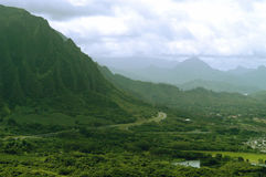 Pali lookout Stock Images