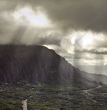 Pali lookout Stock Image