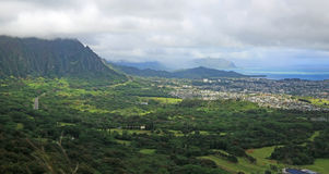 Pali lookout Stock Photo