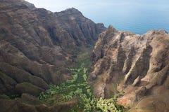 pali na kauai свободного полета Стоковое Изображение RF