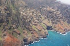 pali na kauai свободного полета Стоковые Изображения RF