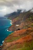 pali na kauai свободного полета Стоковые Фотографии RF