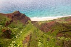 pali na kauai свободного полета Стоковые Фото