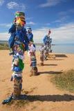Pali santi tradizionali di Bryat Fotografie Stock Libere da Diritti