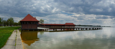 palic的湖 免版税库存图片