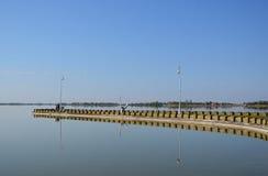 palic的湖 免版税库存照片