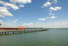 Palic lake Royalty Free Stock Images