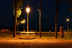 Palic by night Royalty Free Stock Photography