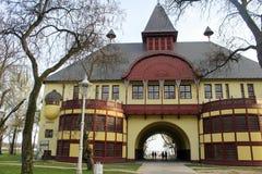 Palic-Stadt in Serbien ist ein touristischer Bestimmungsort im Sommer Stockbild