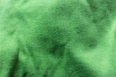 palidezca - la tela verde Foto de archivo