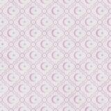 Palidezca - rosa y estrella y Crescent Symbol Tile Pattern Repeat del blanco Fotos de archivo libres de regalías