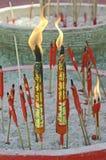 Palillo chino de la vela Foto de archivo