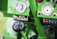 Palillo de engranaje del tractor del vintage Fotografía de archivo libre de regalías