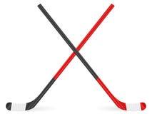 Palillo de hockey Fotografía de archivo libre de regalías