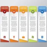 Palillo de Infographic Foto de archivo libre de regalías