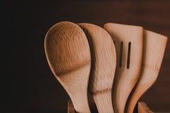 Palillo de la cuchara Imagen de archivo libre de regalías