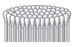 Palillo de los oídos Imagen de archivo libre de regalías