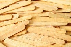 Palillo de madera del helado Imagen de archivo libre de regalías