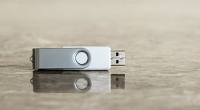 Palillo de memoria Flash fotos de archivo libres de regalías