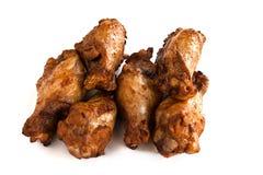 Palillo de pollo de carne asada cinco Fotografía de archivo