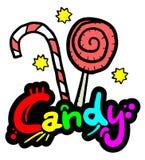 Palillo del caramelo Fotos de archivo