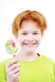Palillo del caramelo Fotografía de archivo