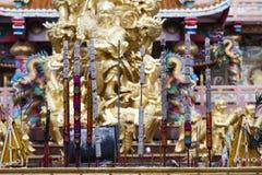 Palillo del incienso en templo chino Foto de archivo libre de regalías