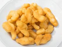 Palillo frito de la pasta Fotografía de archivo