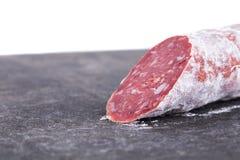 Palillo italiano delicioso del salami del felino foto de archivo libre de regalías