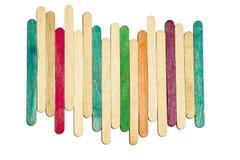 Palillo multicolor Foto de archivo libre de regalías