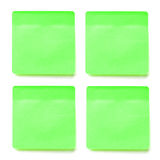 Palillo verde de la nota Fotografía de archivo libre de regalías