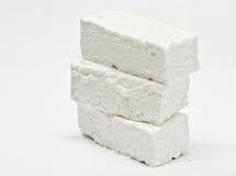 Palillos blancos de la melcocha Fotos de archivo libres de regalías