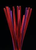Palillos coloreados del aroma Fotografía de archivo libre de regalías