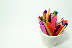 Palillos coloridos del caramelo Imagen de archivo