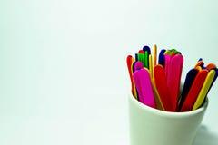 Palillos coloridos del caramelo Fotos de archivo libres de regalías