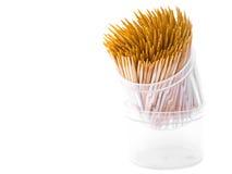 Palillos con el fondo blanco Imagen de archivo libre de regalías