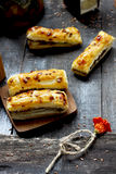 Palillos con queso foto de archivo