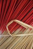 Palillos de ídolo chino del incienso Imagen de archivo libre de regalías