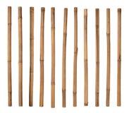Palillos de bambú Foto de archivo libre de regalías