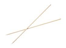 Palillos de bambú Imagen de archivo libre de regalías