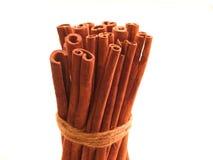 Palillos de canela Fotografía de archivo