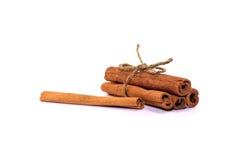Palillos de canela fragantes Foto de archivo libre de regalías