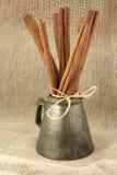 Palillos de cinamomo Foto de archivo libre de regalías