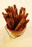 Palillos de cinamomo Fotografía de archivo