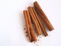 Palillos de Cinamon Imagen de archivo libre de regalías